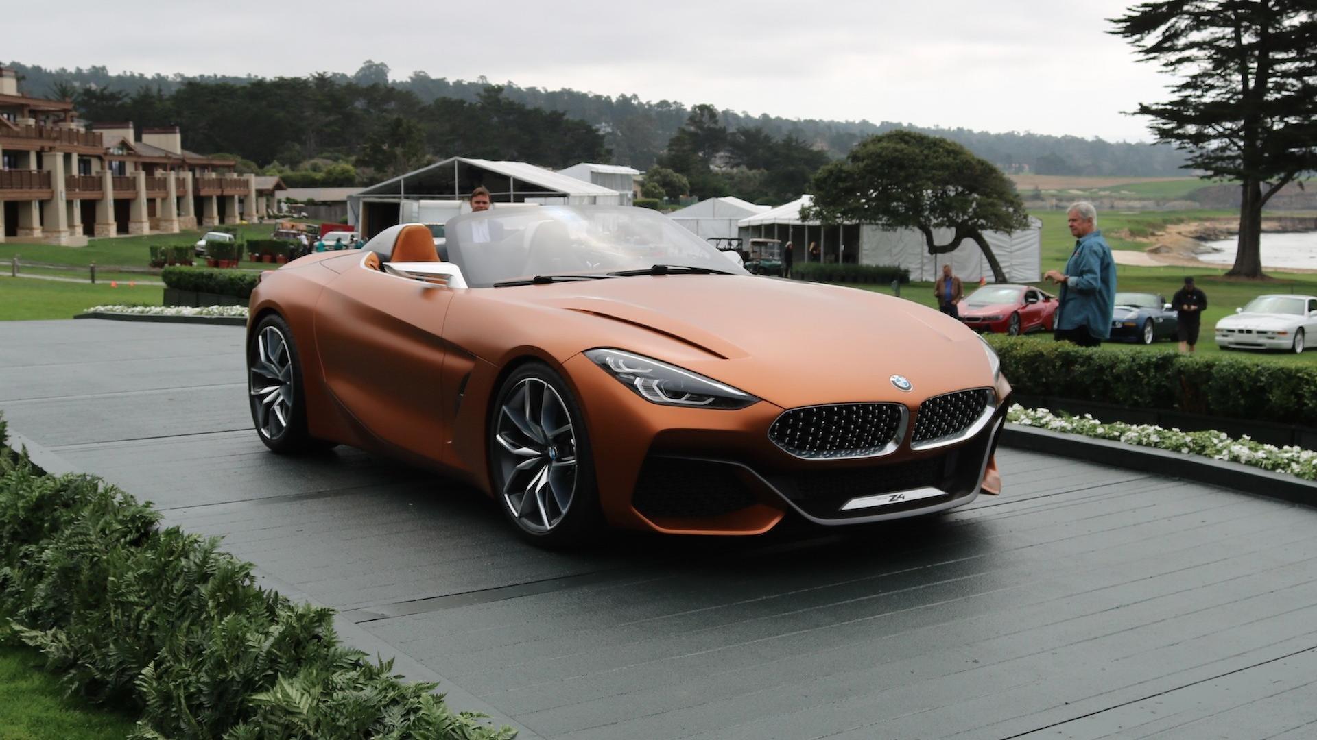 宝马Z4概念车正式亮相 设计语言更具活力