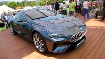 宝马8系概念车实拍 将引入中国市场