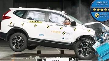 本田CR-V 碰撞测试获五星