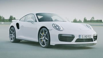 保时捷911 Turbo 碳纤维轮毂