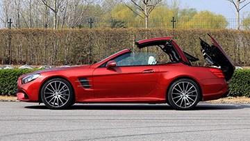 奔驰SL400 外观细节实拍