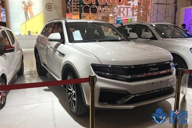 2017成都车展探馆 众泰大迈X7 8AT车型