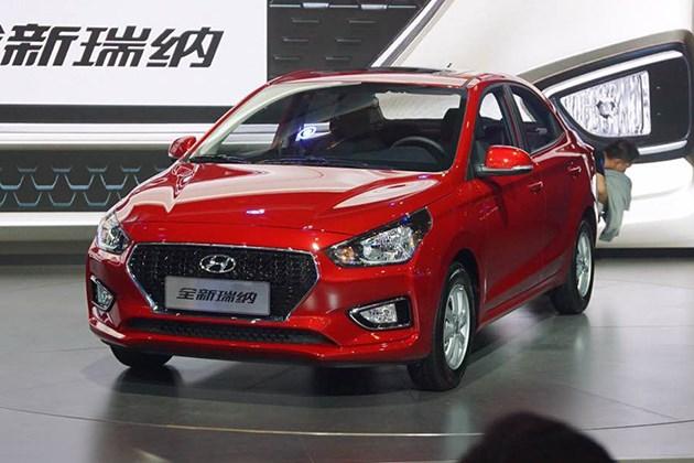 北京现代全新瑞纳预售5-8万元 10月正式上市