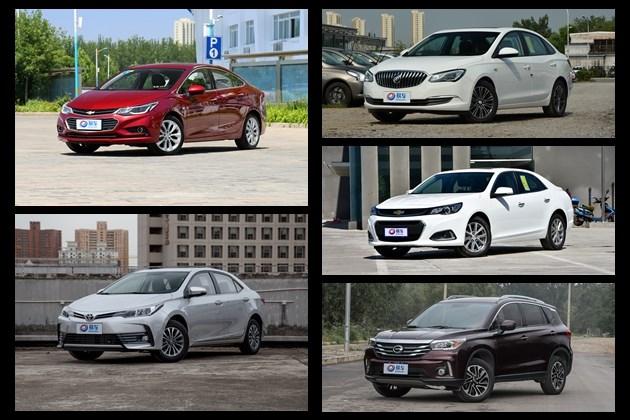 买车摞着数 七月份广州哪五款车最好卖