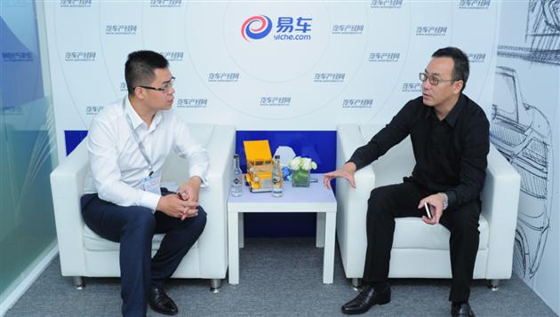 成都国际车展 易车专访城市车辆领克总经理李强