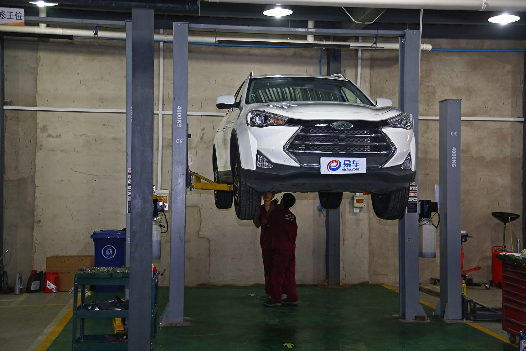 江淮瑞风S7长测第三期 1.5T车型小保养体验
