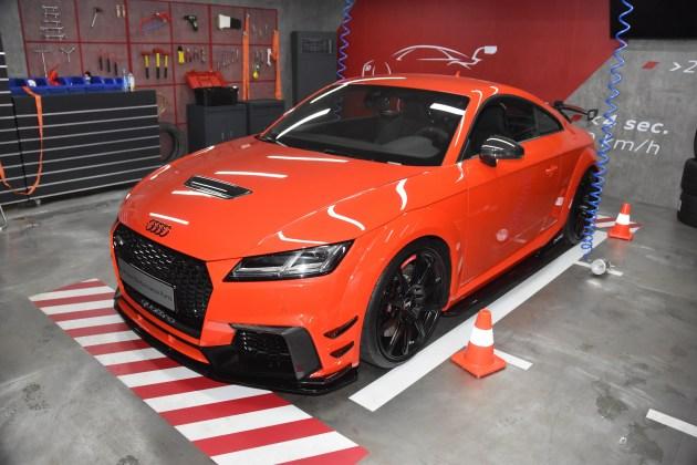 奥迪TT RS performance parts国内首发 没有最强只有更强