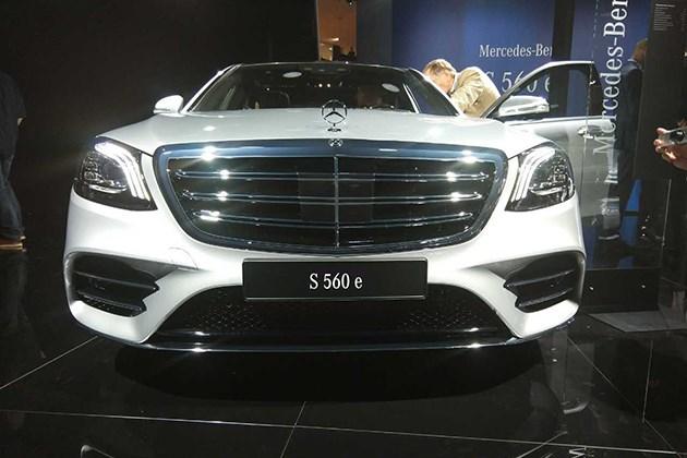 2017法兰克福车展:奔驰S560e亮相/综合油耗仅为2.1L