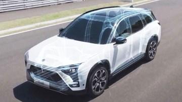蔚来ES8全铝合金车身 轻量化设计