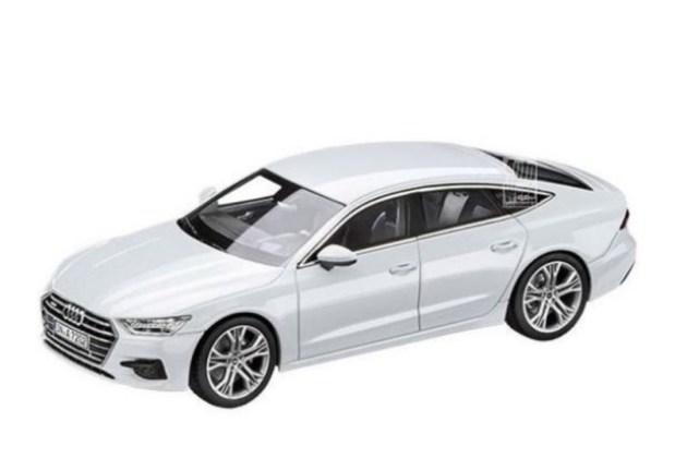 全新奥迪A7模型曝光 于10月19日全球首发