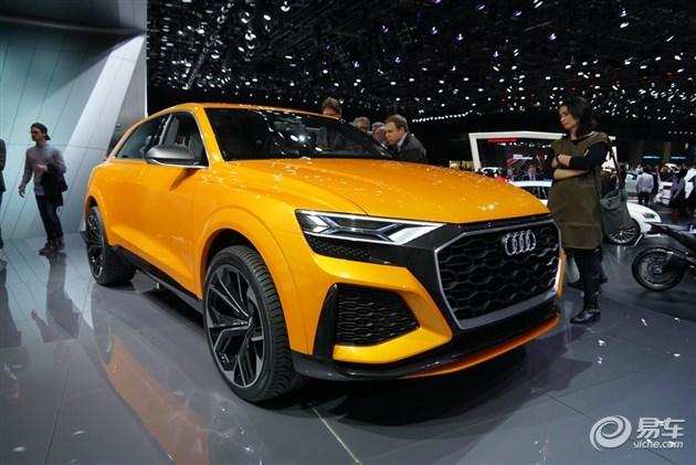 奥迪Q8 Sport概念车将于广州车展亮相 外观更具攻击性