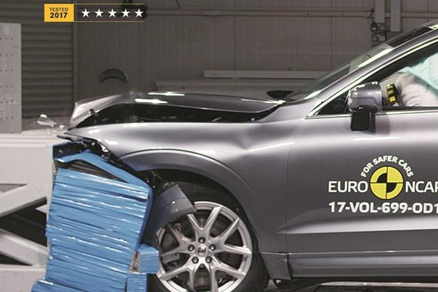 2018款沃尔沃XC60 获得欧洲汽车碰撞测试五星评级