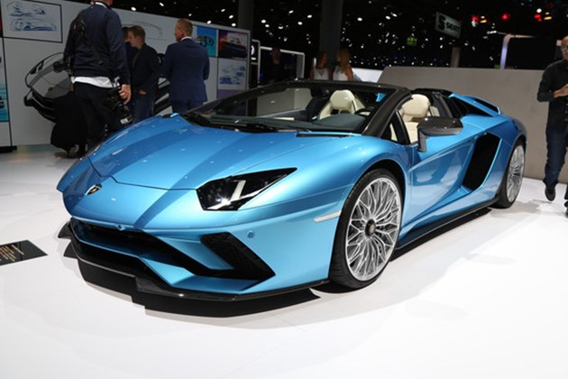 兰博基尼Aventador S敞篷版将于11月16日国内亮相