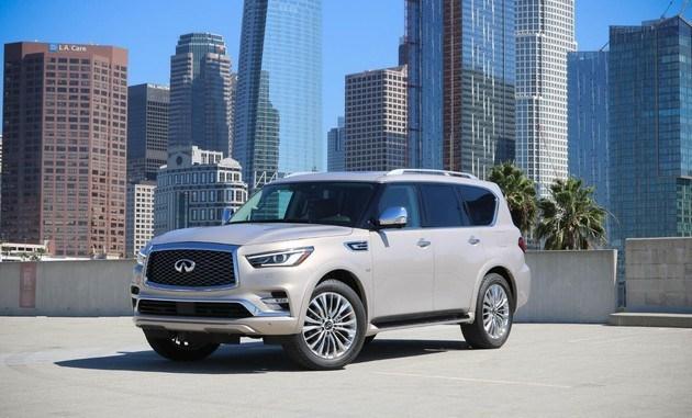 除了全新QX50外,英菲尼迪也将在本届洛杉矶车展中带来旗下全新尺寸SUV新款QX80。新车基于此前发布的Monograph概念车打造,其造型设计也更加贴近最新的英菲尼迪家族式设计。