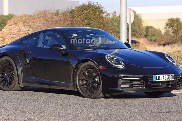 保时捷全新911 Turbo谍照 或将于2019年发布