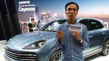 广州车展保时捷卡宴献上中国首秀
