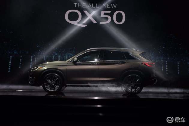 2017洛杉矶车展:英菲尼迪QX50全球首发亮相 将于明年国产