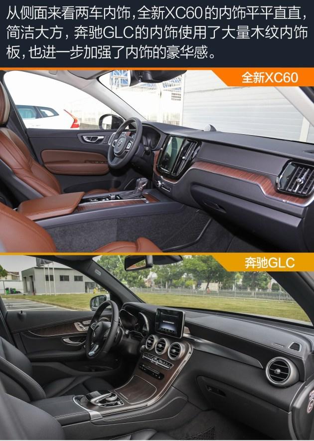 沃尔沃全新XC60对比奔驰GLC 优雅绅士之间的对决