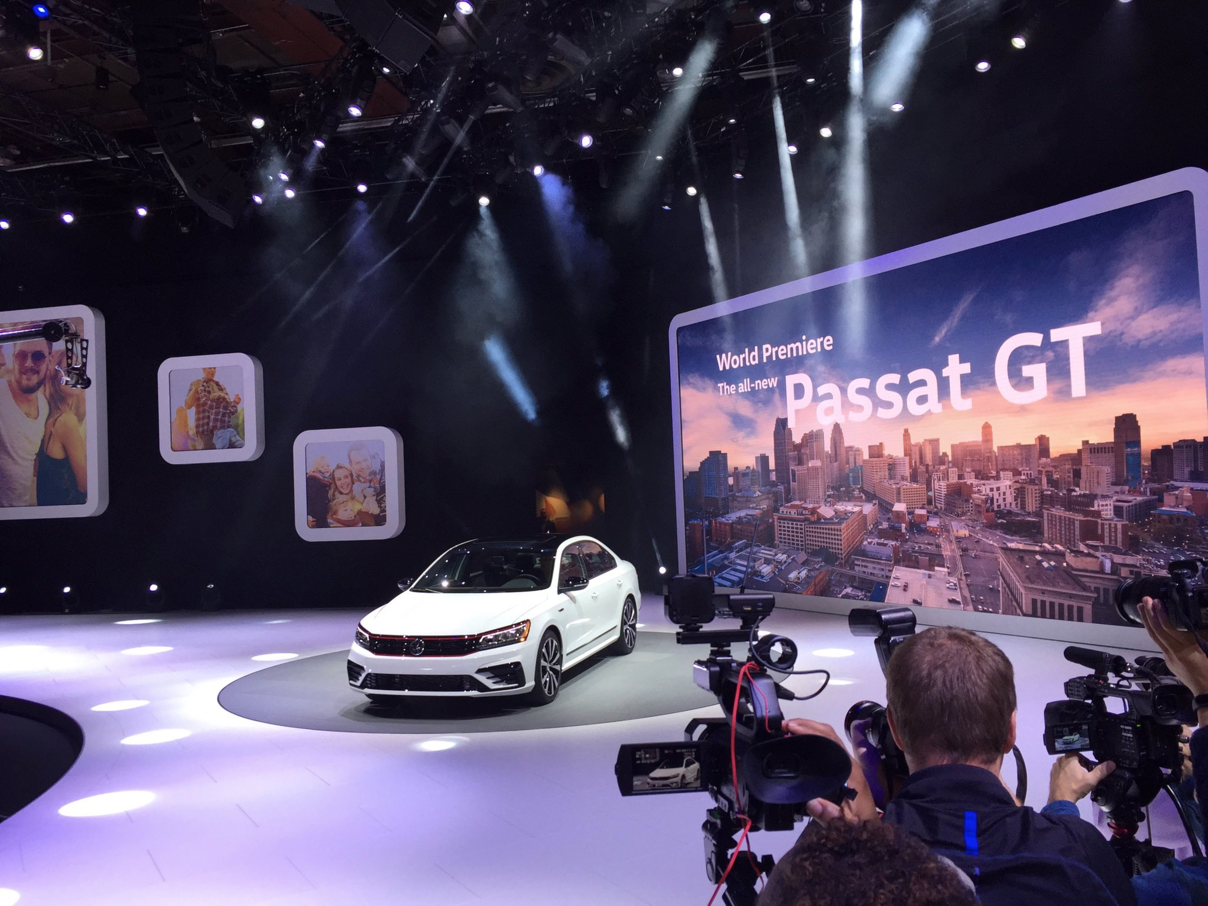 2018北美车展:2018款帕萨特GT亮相