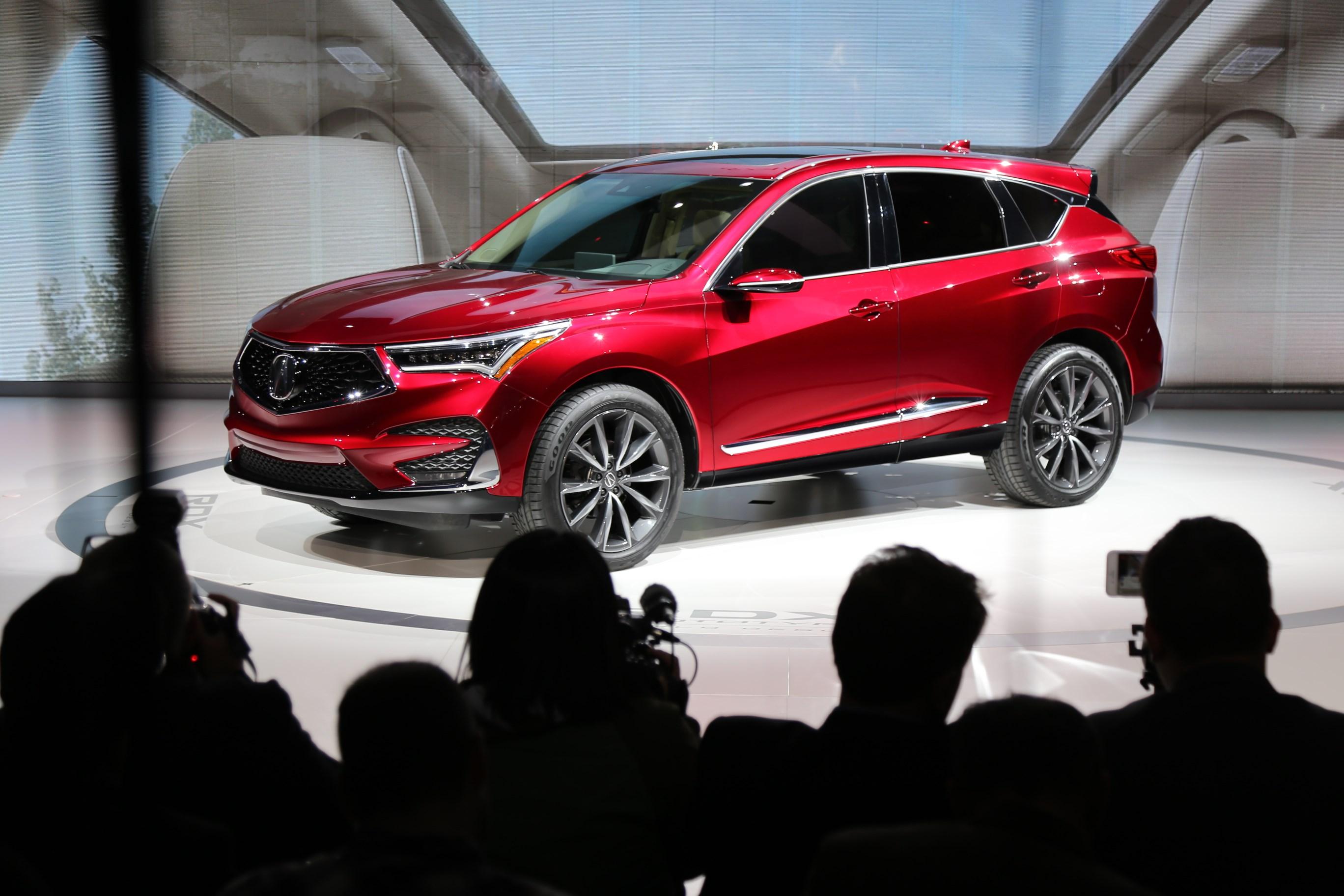 2018北美车展:讴歌全新RDX原型车亮相 或2018年国产
