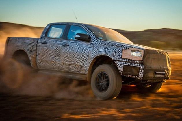 福特新款Ranger Raptor或将2月于泰国正式发布