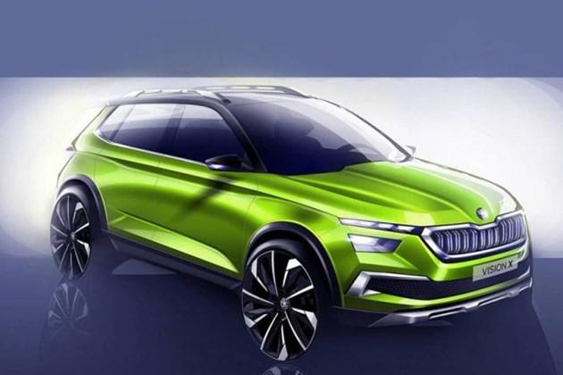 斯柯达VISION X概念车设计图 日内瓦车展正式发布