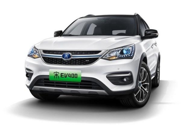 比亚迪宋EV 400官图公布 续航400km/2018年3月上市