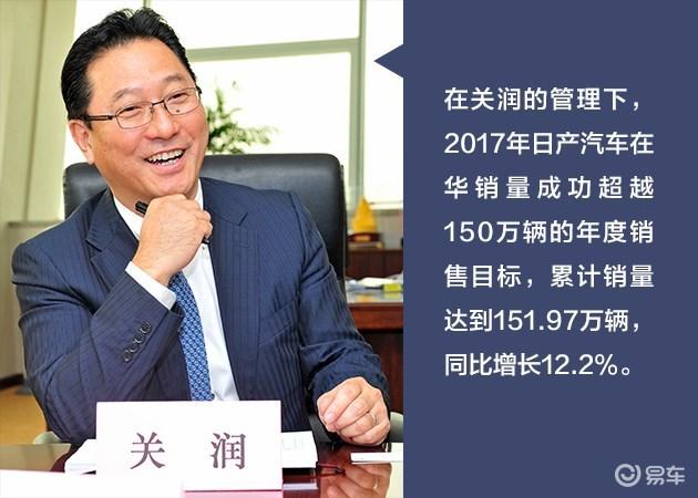 肯定中国市场业绩 日产中国关润升任联盟高级副总裁
