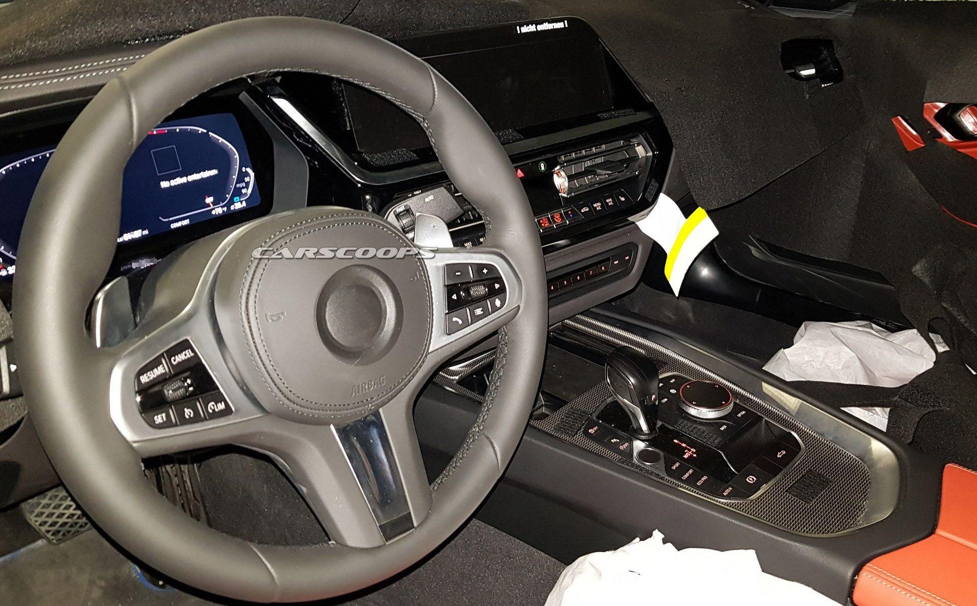 正文   易车讯 近日,我们从海外媒体获得了一组宝马z4测试车辆的内饰