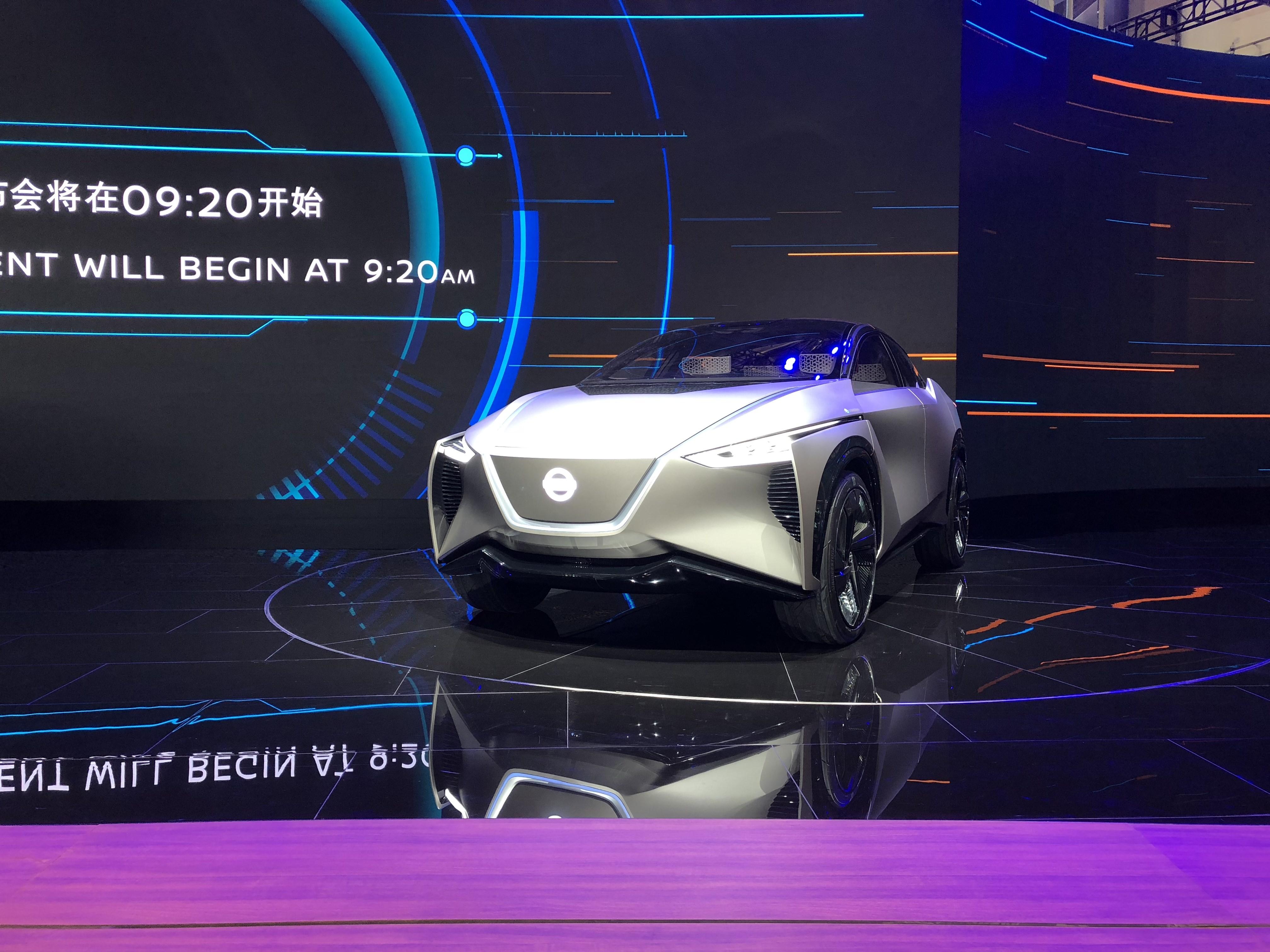 2018北京车展:日产概念车IMx KURO亮相展台/续航超600公里