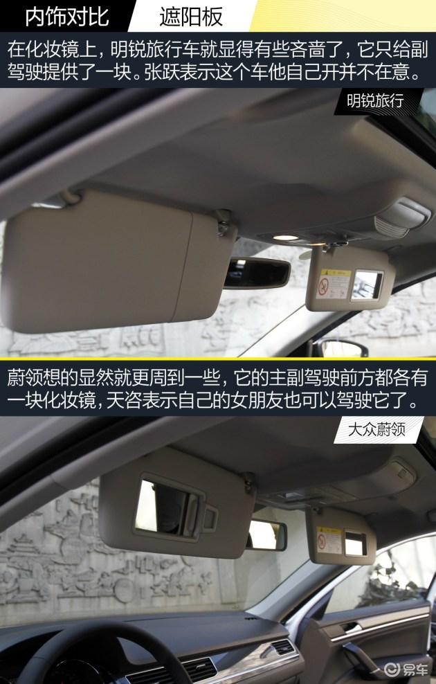 旅行的意义 黑白对决之大众蔚领/明锐旅行车