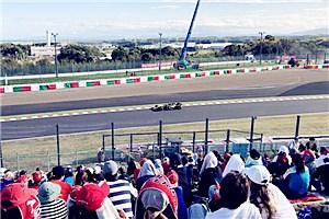 日本鈴鹿賽道F1大賽紀實 萌娃首秀