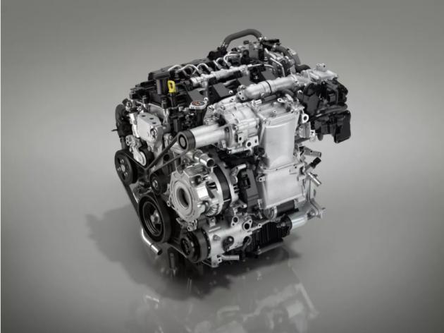 全新一代马自达3发布 搭载SKYACIV-X发动机