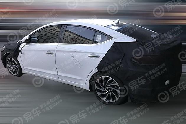 北京现代领动1.5L车型谍照 未来取代1.6L车型