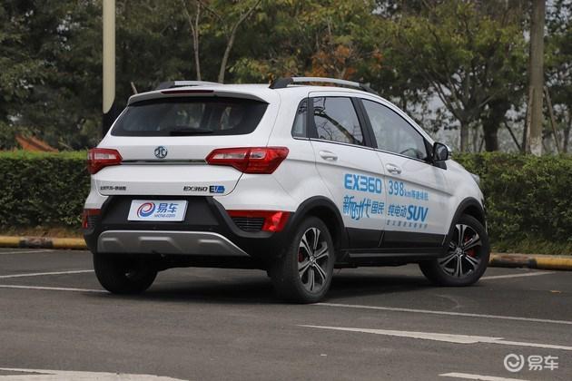涨价 北汽EX360价格调整 补贴后8.49-10.39万