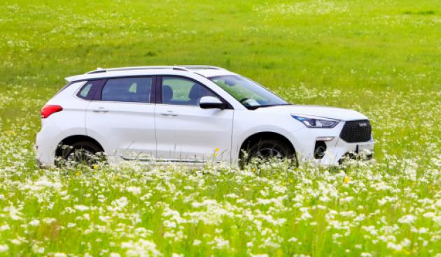 展现自主SUV的力量,面对合资的强大 新H6 Coupe何惧!