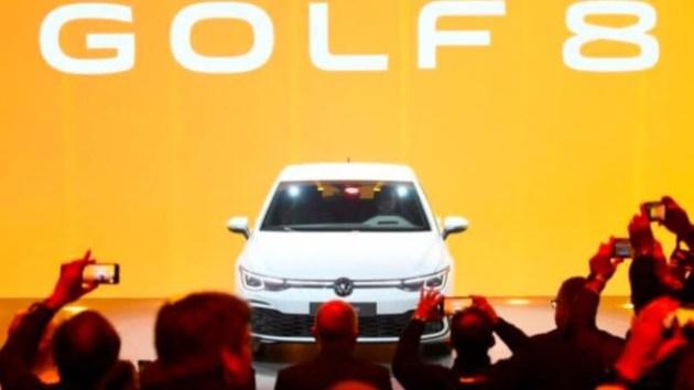 第八代高爾夫德國首發 外觀保持傳統內飾全面更新