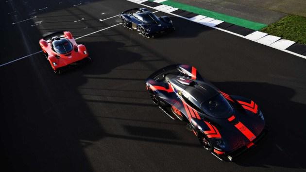 【图文】能开上公路车的F1!Valkyrie预计今年下半年交付