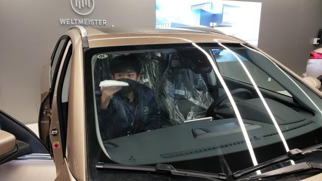 【图文】编辑亲身探访威马4S店 购车综合优惠1万元,有上门试驾服
