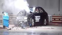 C-NCAP碰撞测试 奇瑞瑞麒G5荣获四星