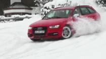 超强爆发力 奥迪S4漂移横扫千层雪