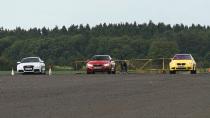 奥迪RS5挑战宝马M系兄弟 直线加速赛