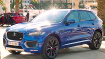 捷豹F-PACE跑车型SUV 54.8万起售