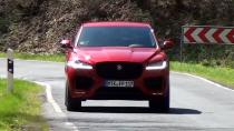 全新捷豹F-PACE跑车型SUV 公路性能出色