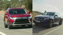 新款欧蓝德VS奔驰GLC Coupe 越野硬汉PK