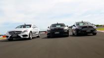 福特/奔驰/保时捷 赛道圈速激情对决