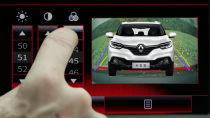 东风雷诺科雷嘉 倒车影像监视系统展示