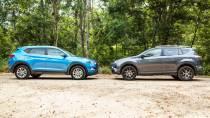 四款SUV对比试驾 全新途胜PK丰田RAV4