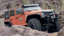 Jeep牧马人RC遥控车 勇闯岩石堆越野