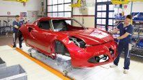 阿尔法·罗密欧4C 探秘高科技生产车间